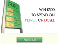 Win £500 worth of petrol vouchers
